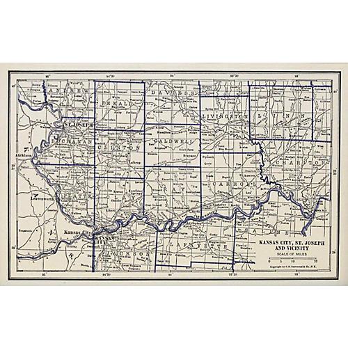 Kansas City, St. Joseph & Vicinity, 1929