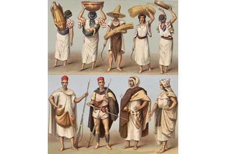 Native Dress Algeria & Tunisia, 1888
