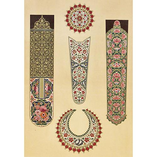 Ornamental Design Arms, 1852