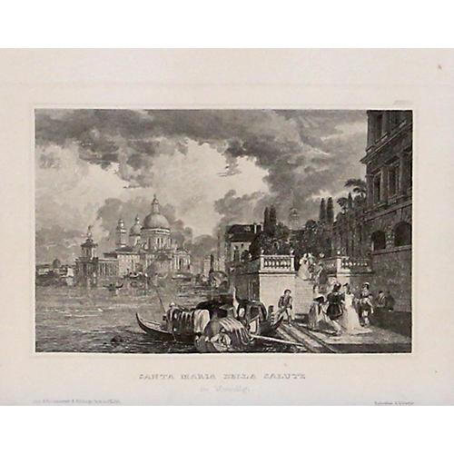 Santa Maria della Salute Venice, 1838
