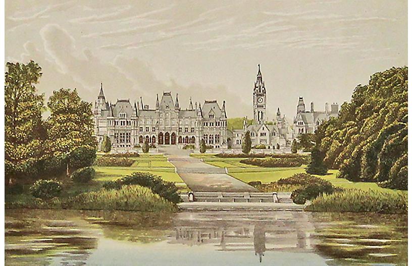 Eaton Hall, C. 1880