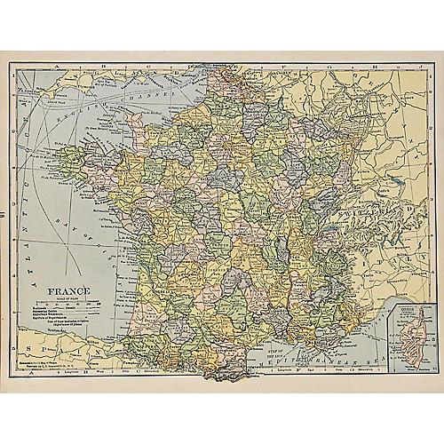 France & Corsica, 1929