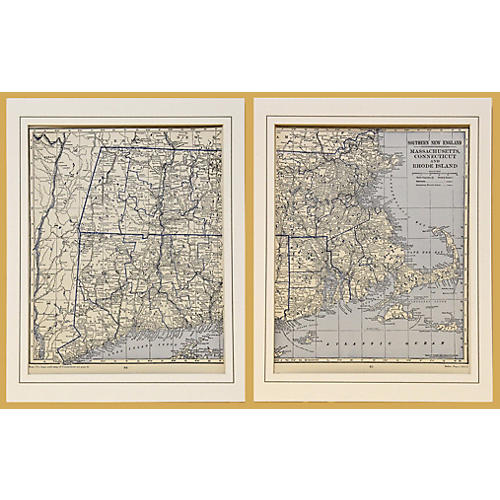 Southern New England Diptych, 1929