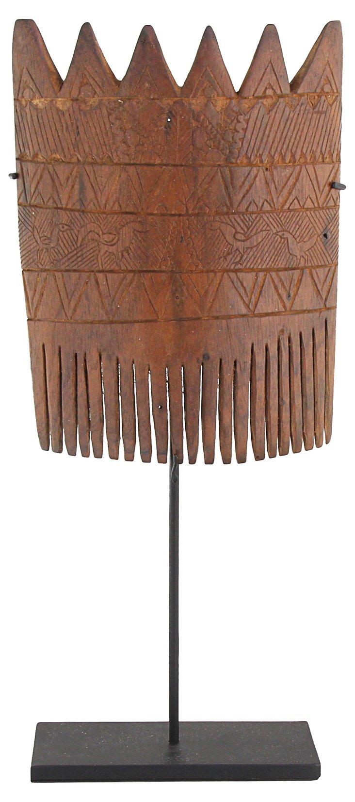 Indonesian Wood Hair Comb