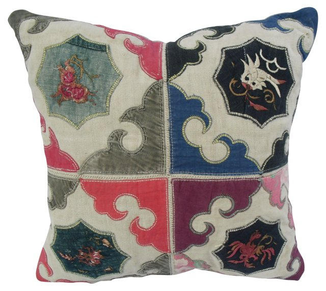 Hill Tribe Quilt    Pillow