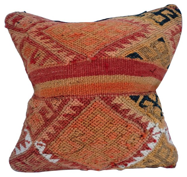 Kilim Embroidered Pillow