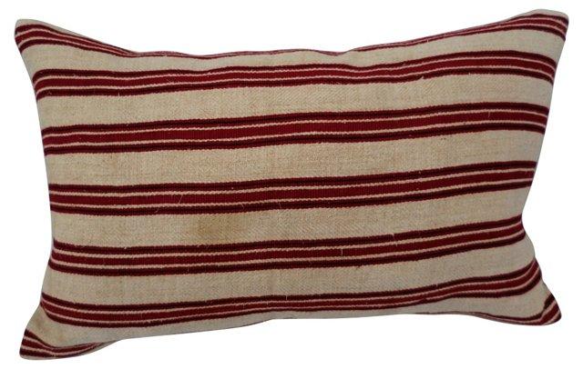 Camel Bag Linen Pillow