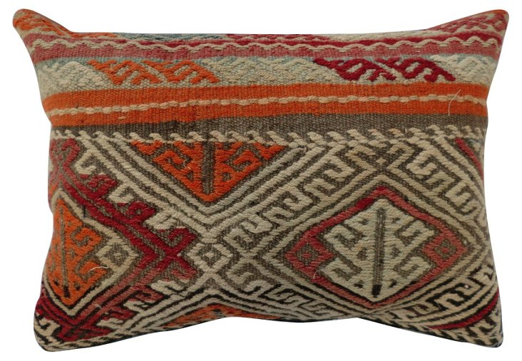 Turkish Muted Tribal Pillow