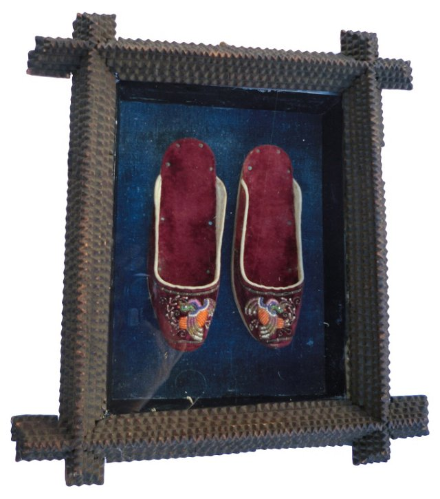 19th-C Children's Shoes