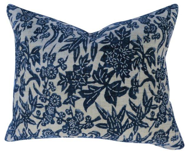 Shanghai Batik Linen Gauze Pillow