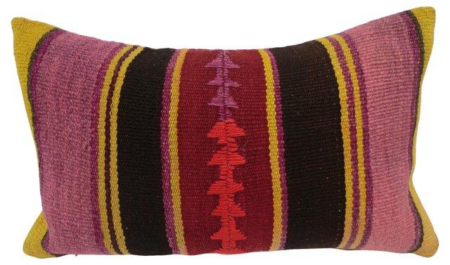 Peruvian Tribal Cotton Pillow