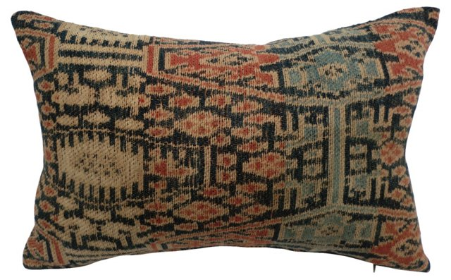 Handwoven   Ikat Pillow