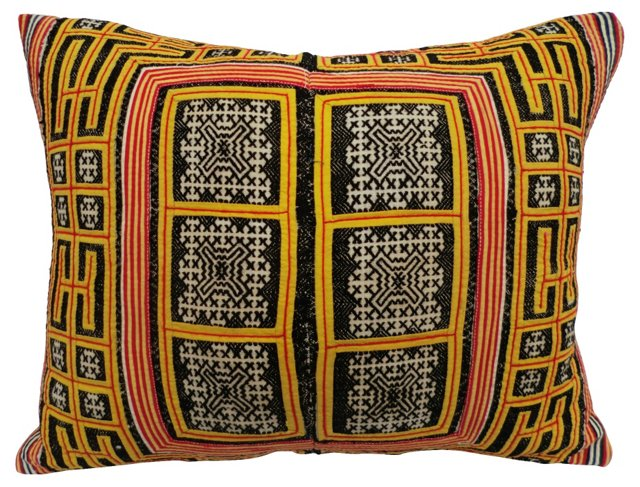 Tribal Baby Carrier   Pillow