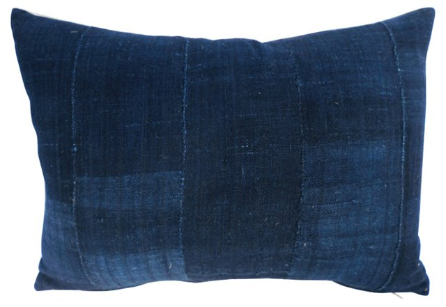 Variegated African Indigo Pillow