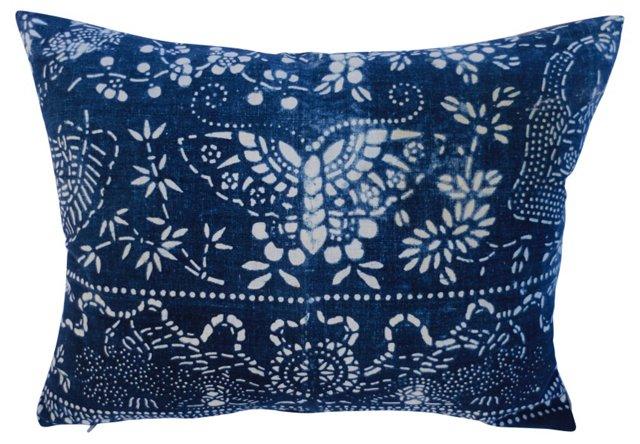 Butterfly Batik    Pillow