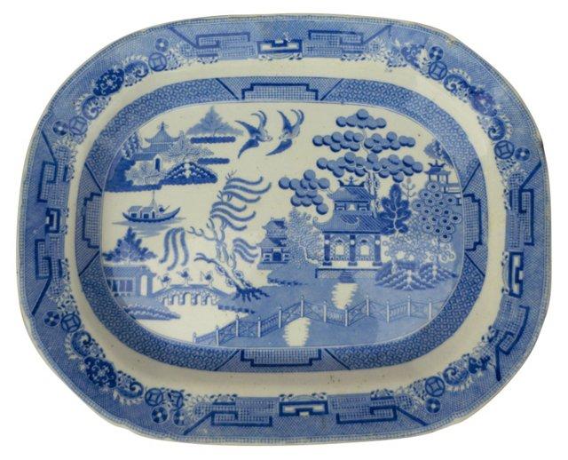 Victorian Willow Wall  Platter