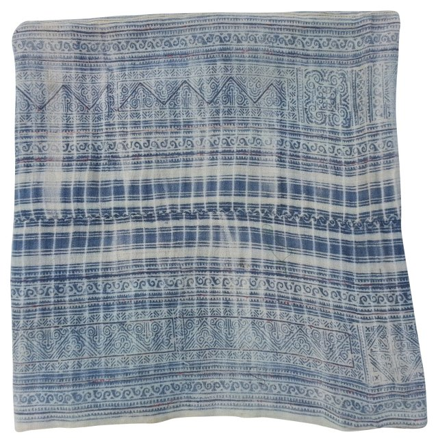 Thick Linen Batik  Textile