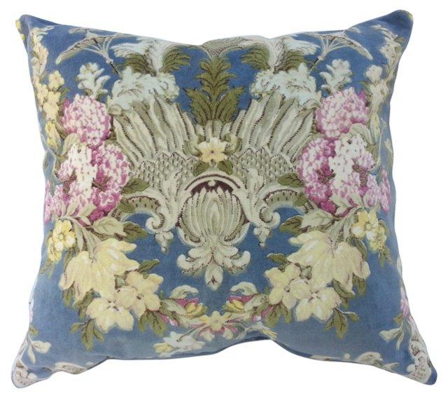 Scalamandré Cotton Velvet Pillow