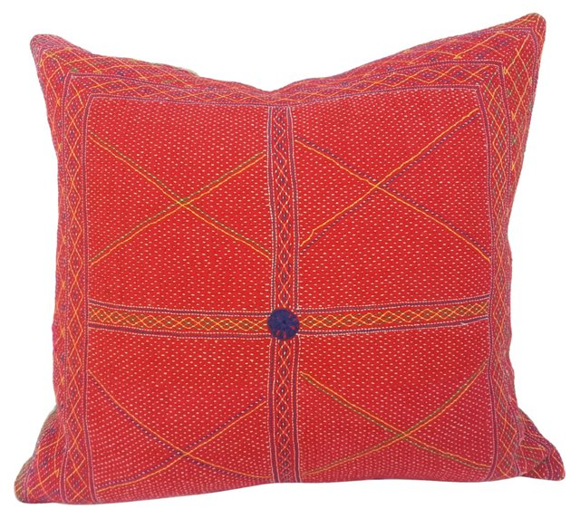Quilted Gypsy Pillow