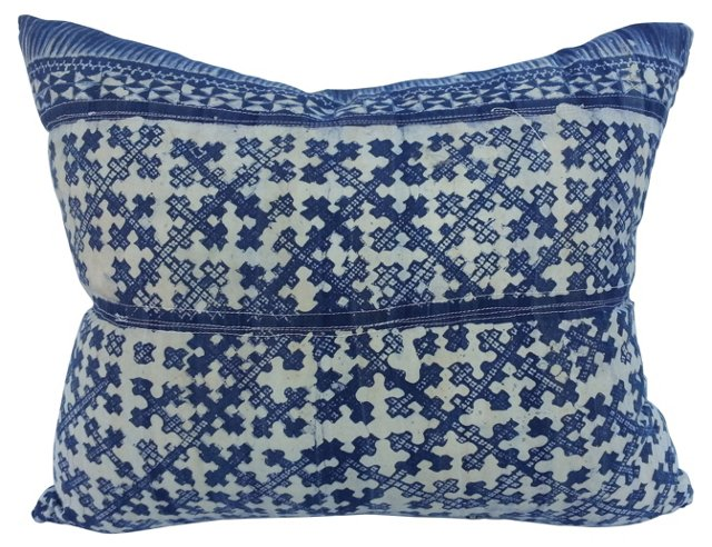 Naga Tribal Batik Pillow