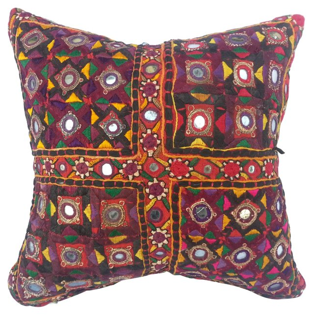 Gypsy Mirrored Pillow