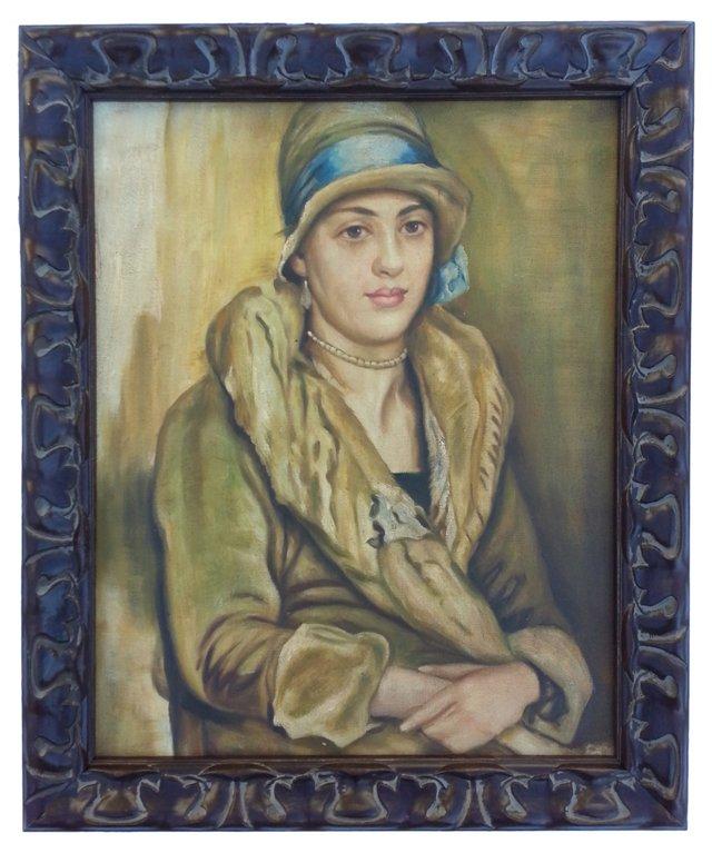 Flapper Portrait