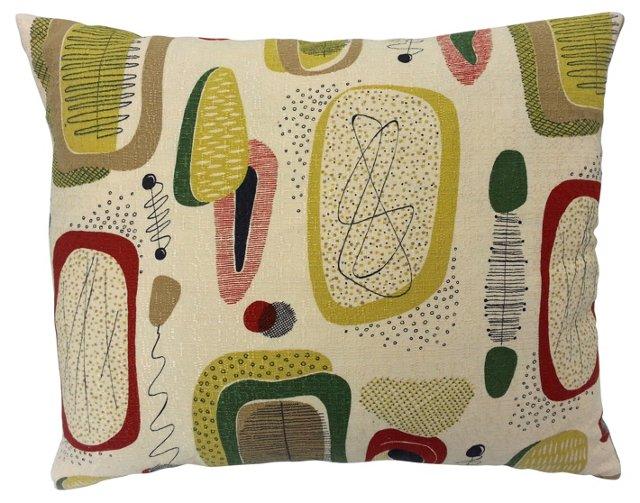 Midcentury Print Pillow
