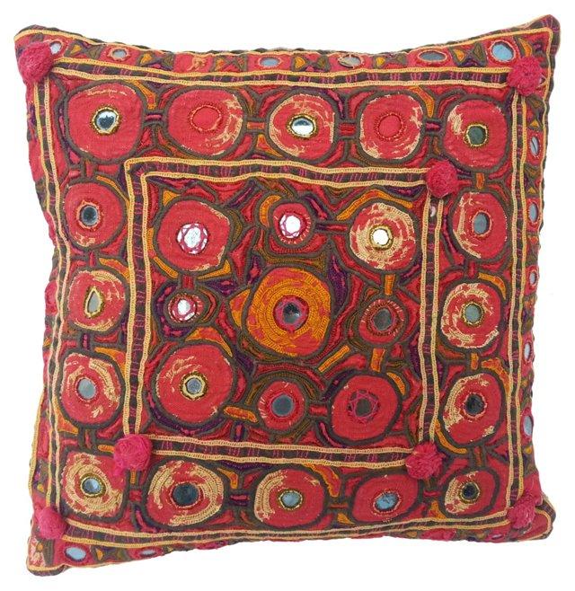 Gypsy Mirror Pillow