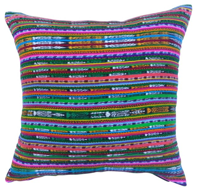 Multicolor   Tribal    Pillow