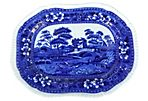 19th-C. Spode Wall Plate