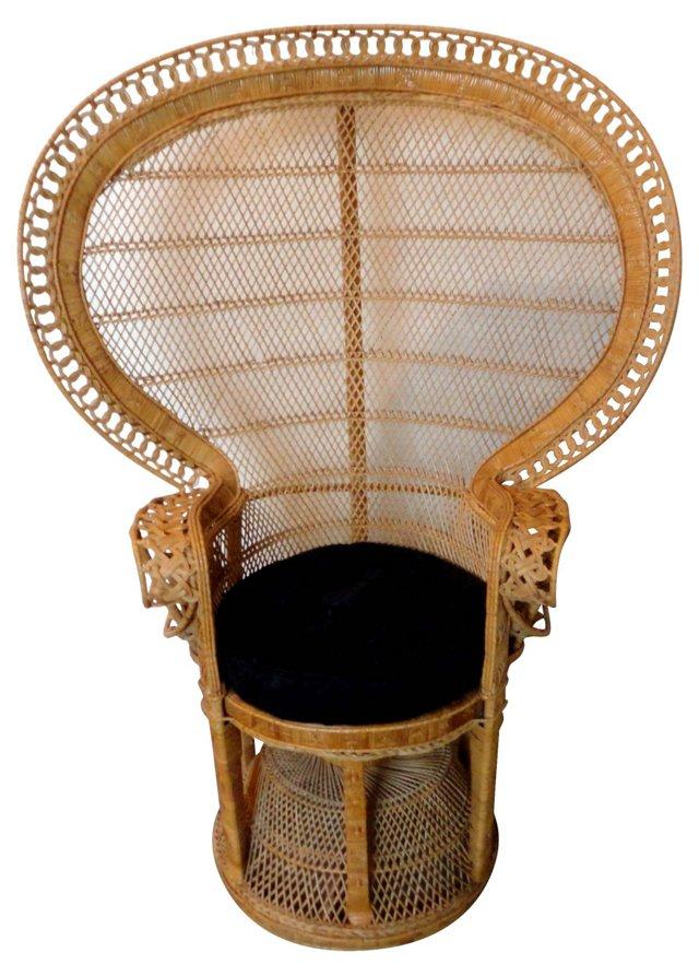 Peacock Fan Chair