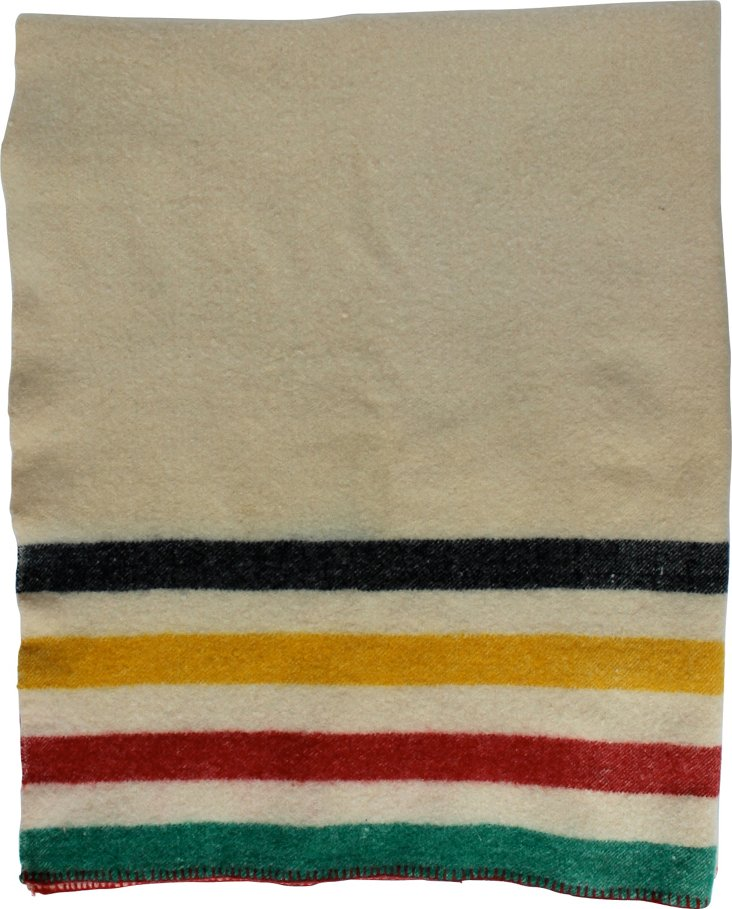 Hudson Bay-Style Wool Blanket
