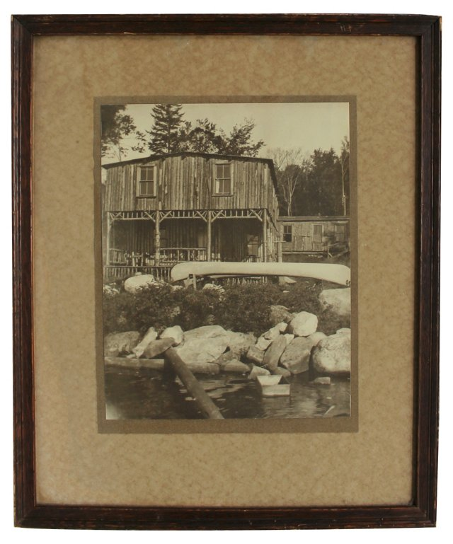 Adirondack Camp Photograph