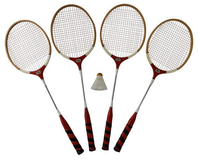 Badminton Set, 5 Pcs