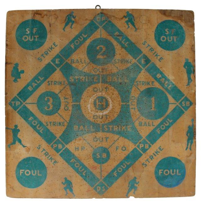 Baseball/Horse Racing  Dart Board
