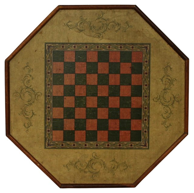 Two-Sided  Octagonal Gameboard