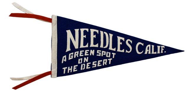 Needles, CA Pennant