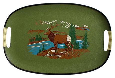 Souvenir Elk Tray