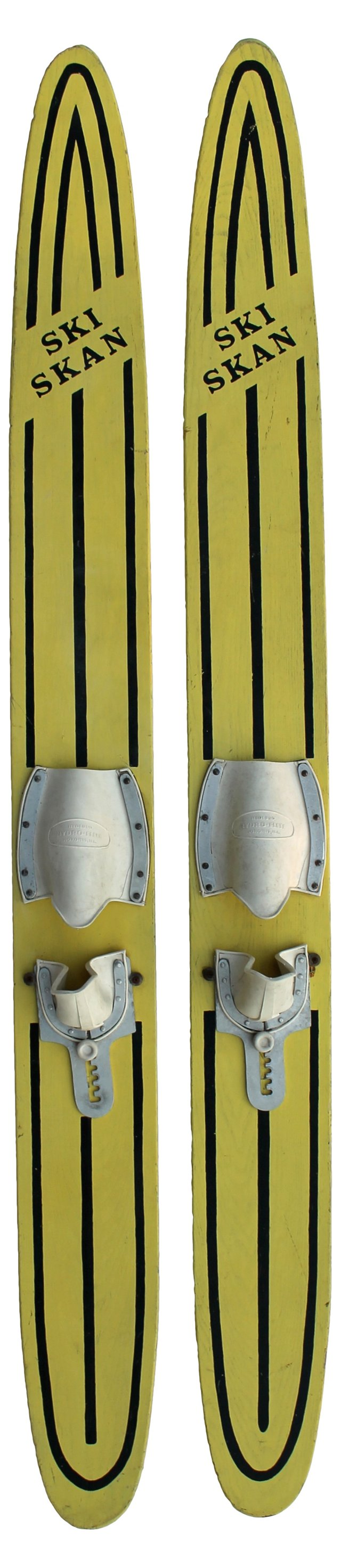 Ski Skan Water Skis, Pair