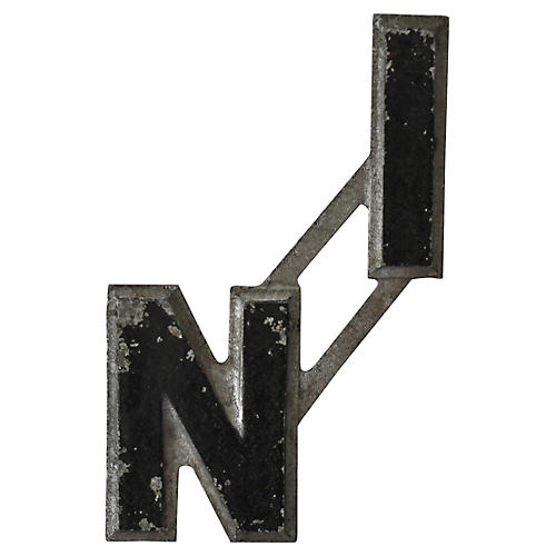In Metal Letters