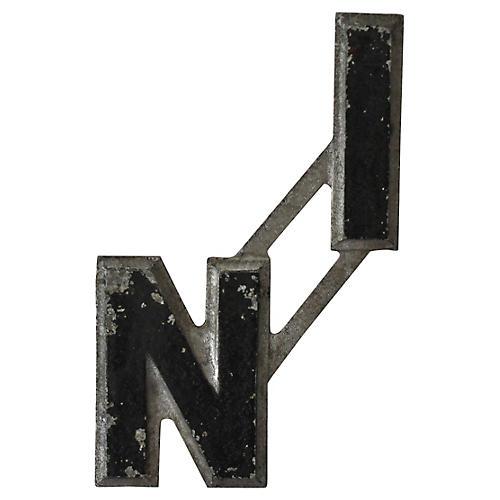 In Metal Letters