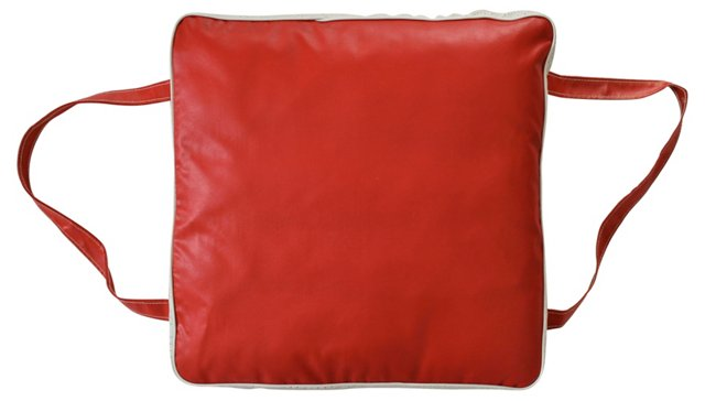 Red Boat Cushion