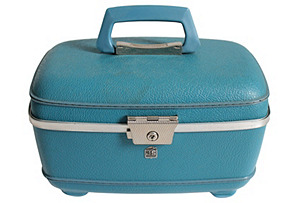 US Luggage Turquoise Travel Case