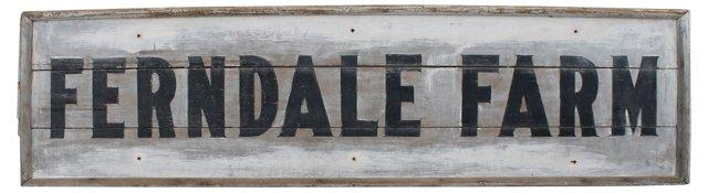 Ferndale Farm Sign