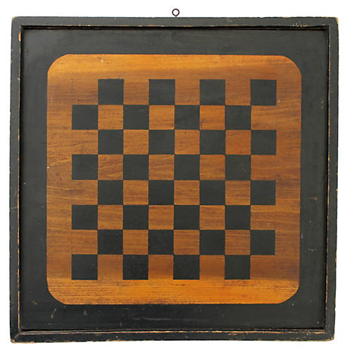 Checkers/Parcheesi Gameboard