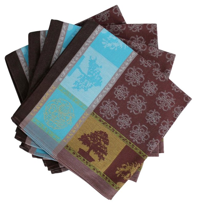 French  Napkins, S/4