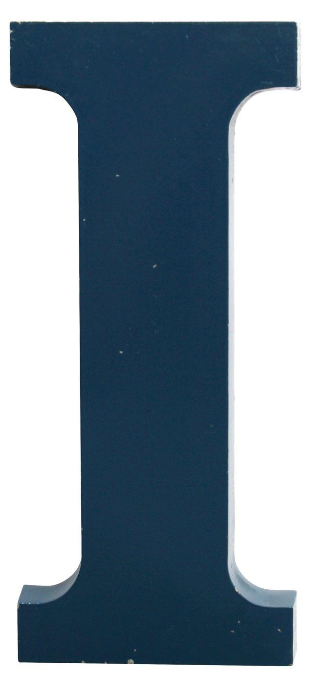 Blue Letter I