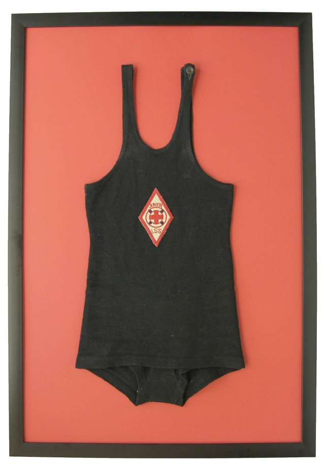 Vintage Junior LSS Swimsuit