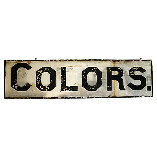 Colors Sign