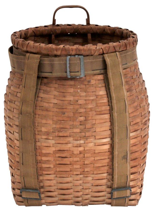 Pack Basket w/ Straps